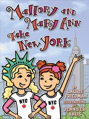 cover image of Mallory and Mary Ann Take New York