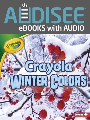 cover image of Crayola Winter Colors