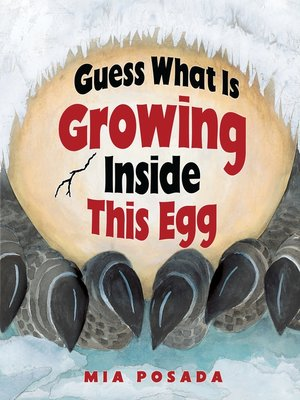 cover image of Guess What Is Growing Inside This Egg