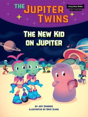 cover image of The New Kid on Jupiter (Book 8)