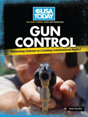 cover image of Gun Control