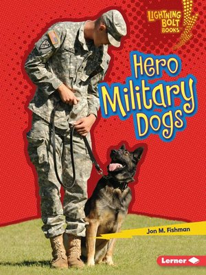 cover image of Hero Military Dogs