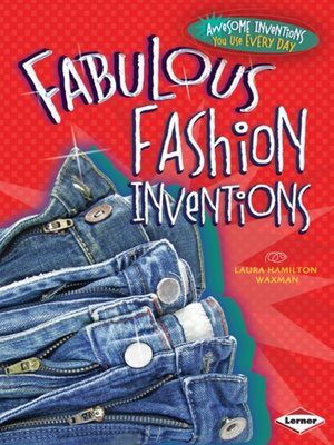 cover image of Fabulous Fashion Inventions