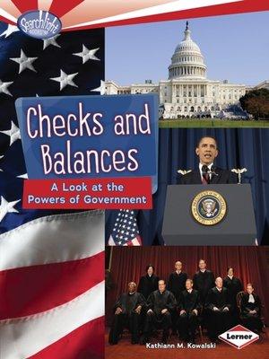 cover image of Checks and Balances
