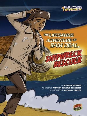 cover image of The Lifesaving Adventure of Sam Deal, Shipwreck Rescuer