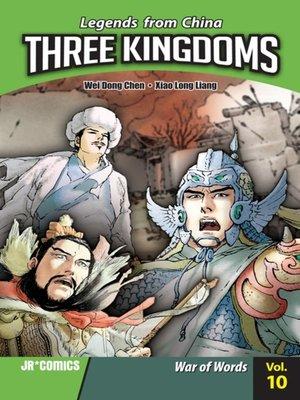 cover image of Three Kingdoms, Volume 10
