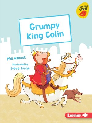 cover image of Grumpy King Colin