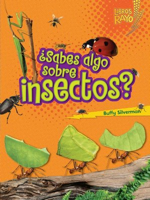 cover image of ¿Sabes algo sobre insectos? (Do You Know about Insects?)