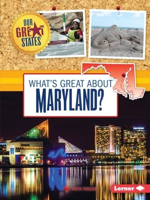 cover image of What's Great about Maryland?