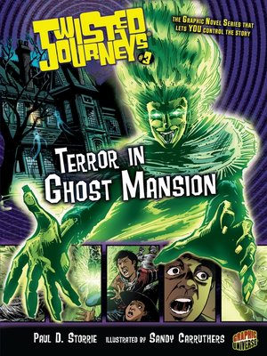 cover image of Terror in Ghost Mansion