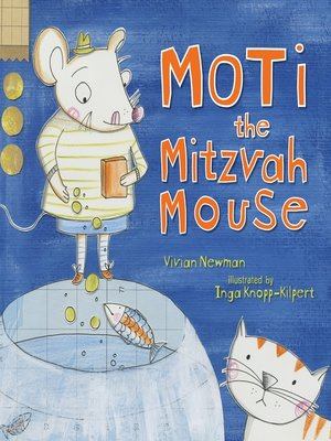 cover image of Moti the Mitzvah Mouse