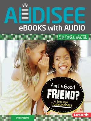 cover image of Am I a Good Friend?