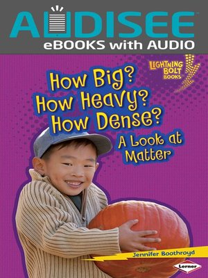 cover image of How Big? How Heavy? How Dense?