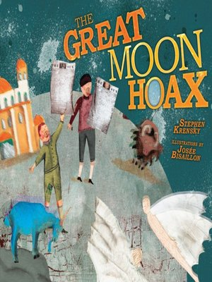 cover image of The Great Moon Hoax