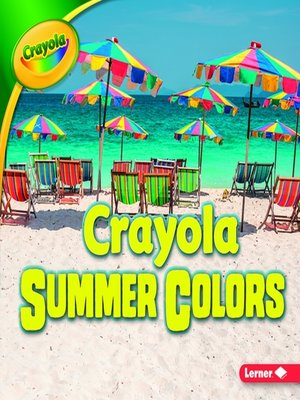 cover image of Crayola Summer Colors