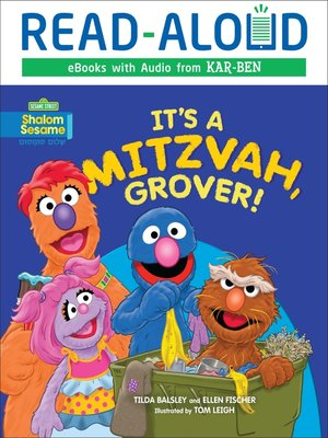 cover image of It's a Mitzvah, Grover!