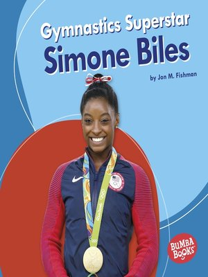 cover image of Gymnastics Superstar Simone Biles