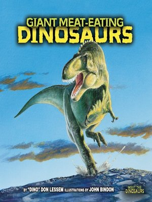 cover image of Giant Meat-Eating Dinosaurs