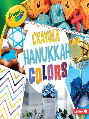 cover image of Crayola Hanukkah Colors