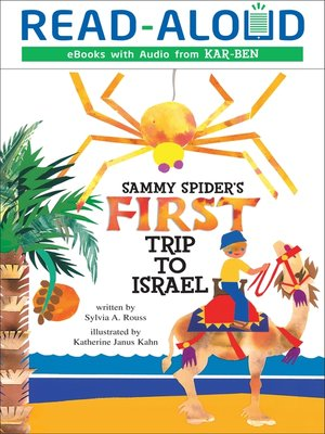 cover image of Sammy Spider's First Trip to Israel