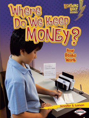 cover image of Where Do We Keep Money?