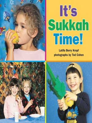 Sammy spiders first sukkot by sylvia a rouss overdrive its sukkah time fandeluxe Document