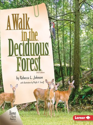 cover image of A Walk in the Deciduous Forest