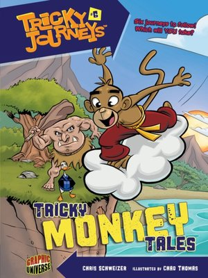 cover image of #06 Tricky Monkey Tales