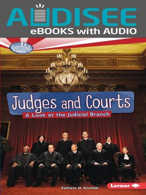 cover image of Judges and Courts