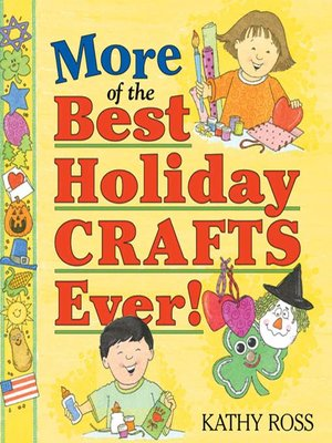cover image of More of the Best Holiday Crafts Ever!