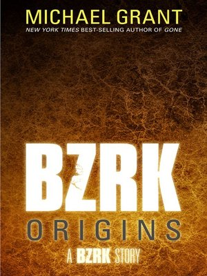 cover image of BZRK Origins