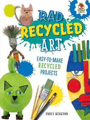 cover image of Rad Recycled Art