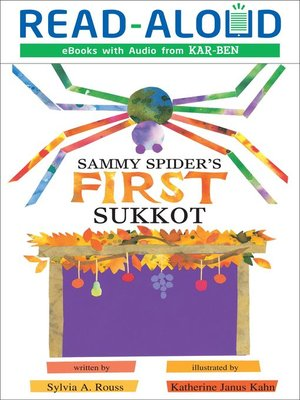 cover image of Sammy Spider's First Sukkot