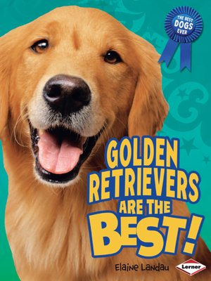 cover image of Golden Retrievers Are the Best!