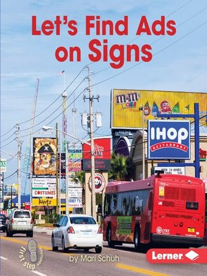 cover image of Let's Find Ads on Signs