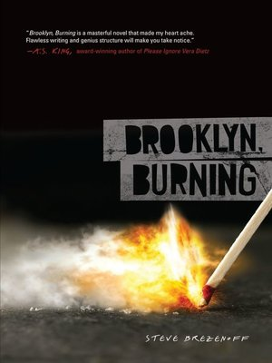 cover image of Brooklyn, Burning