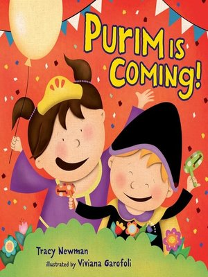 cover image of Purim Is Coming!