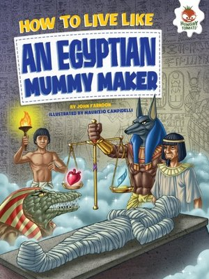 cover image of How to Live Like an Egyptian Mummy Maker