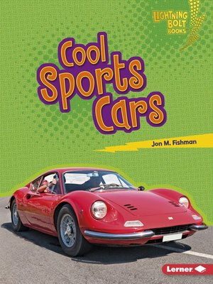 cover image of Cool Sports Cars