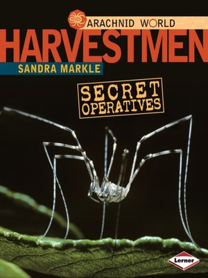 cover image of Harvestmen