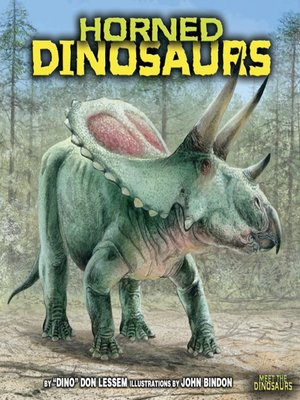 cover image of Horned Dinosaurs