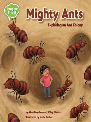 cover image of Mighty Ants