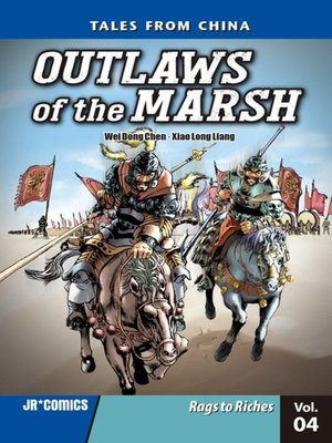 cover image of Outlaws of the Marsh, Volume 4