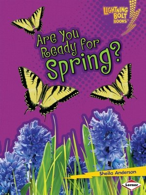 cover image of Are You Ready for Spring?