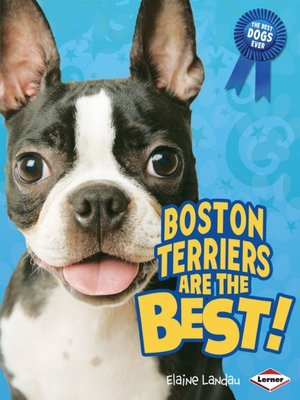 cover image of Boston Terriers are the Best!