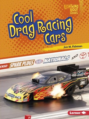 cover image of Cool Drag Racing Cars