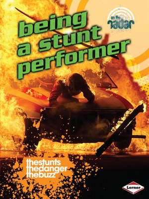cover image of Being a Stunt Performer