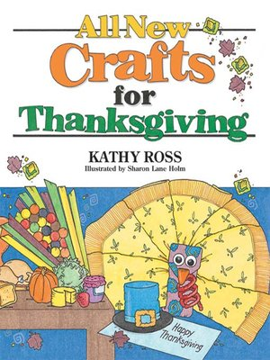 cover image of All New Crafts for Thanksgiving