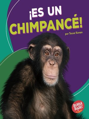 cover image of ¡Es un chimpancé! (It's a Chimpanzee!)