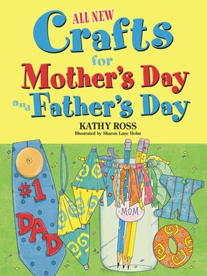 cover image of All New Crafts for Mother's Day and Father's Day